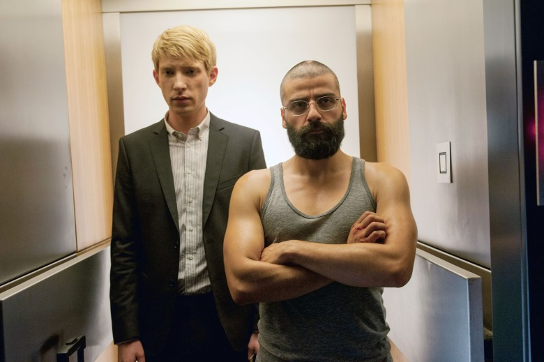 Editorial use only. No book cover usage.Mandatory Credit: Photo by Dna/Kobal/Shutterstock (5883926f)Domhnall Gleeson, Oscar IsaacEx Machina - 2015Director: Alex GarlandDna Films/Film4USA/UKScene StillScifiEx-Machina