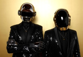 Thomas Bangalter, left, and Guy-Manuel de Homem-Christo, from the group Daft Punk pose for a portrait in Los Angeles. The Recording Academy announced, that Daft Punk will perform at the Grammy Awards show on Jan. 26, 2014Music-Grammy Performers, Los Angeles, USA