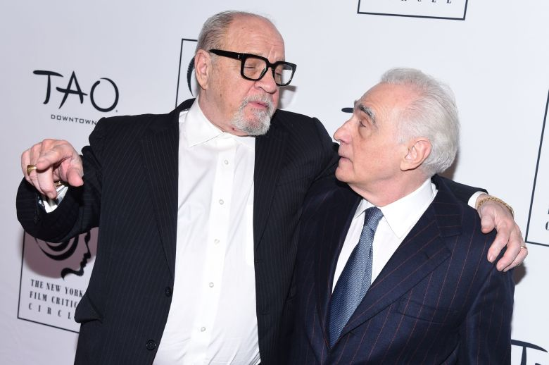 Paul Schrader and Martin ScorseseNew York Film Critics Circle Awards, Arrivals, New York, USA - 07 Jan 2019