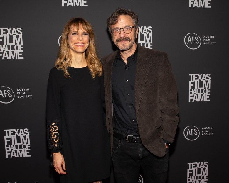 Lynn Shelton and Marc MaronTexas Film