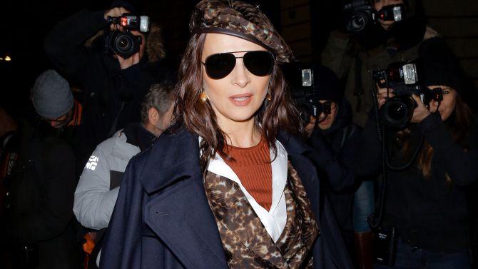 Juliette BinocheGiorgio Armani Prive show, Arrivals, Spring Summer 2020, Haute Couture Fashion Week, Paris, France - 21 Jan 2020