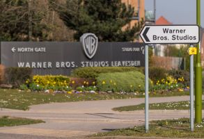 A general view of the entrance to Warner Bros. Studios in Leavesden, HertfordshireCoronavirus outbreak, London, UK - 26 Mar 2020Home to the Harry Potter, Fantastic Beasts and recent Mission Impossible movies. Work on productions has all but ceased due to the coronavirus pandemic. Workers in the industry comprise mainly the self-employed (from cameramen to background artistes) and later today Rishi Sunak, Chancellor of the Exchequer, is due to launch a financial support plan for them and members of the self employed in other industries.