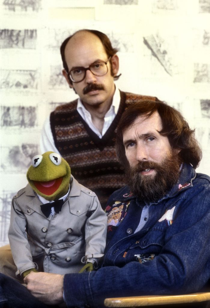 Frank Oz and Jim Henson with Kermit the muppetVarious