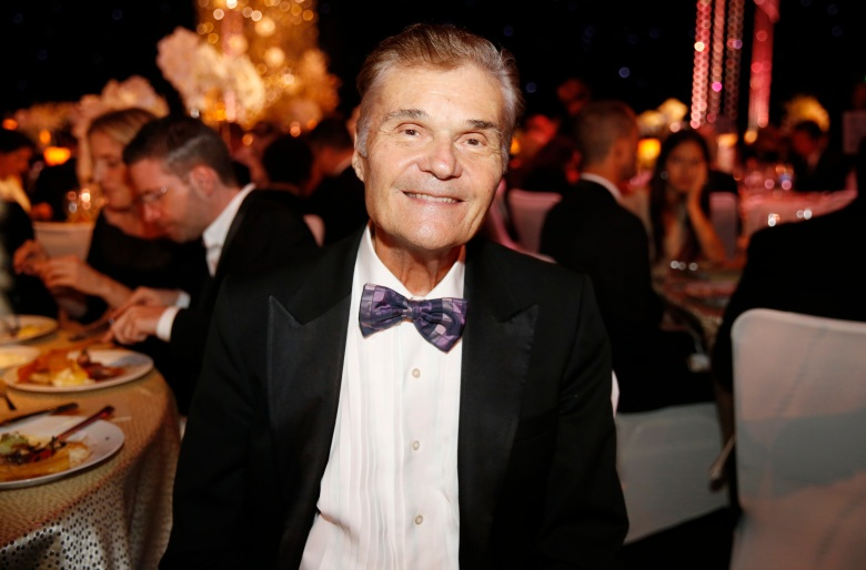 Fred Willard attends the Governors Ball for the Television Academy's Creative Arts Emmy Awards at LA Convention Center, in Los AngelesTelevision Academy's 2015 Creative Arts Emmy Awards - Governors Ball, Los Angeles, USA