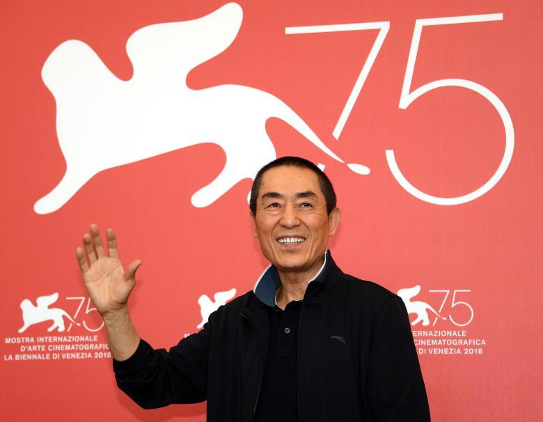 Chinese filmmaker Zhang Yimou75th Venice International Film Festival, Italy - 06 Sep 2018 photocall for 'Ying (Shadow)'