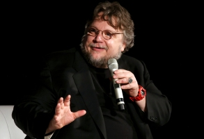 Mexican Director Guillermo Del Toro Attends a Press Conference at the International Film Festival in Guadalajara (ficg) Mexico 09 March 2015 the Festival Runs Until 15 March Mexico GuadalajaraMexico Cinema - Mar 2015