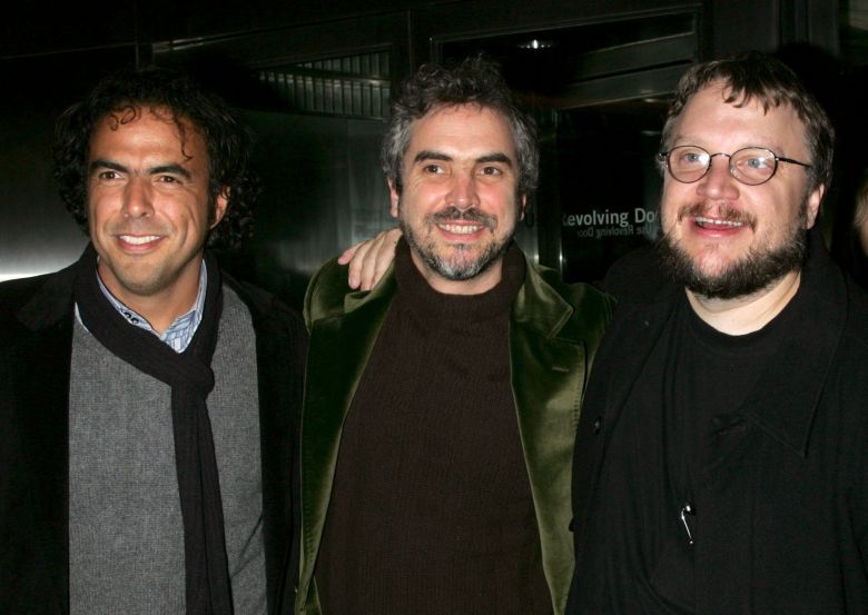 Alejandro Gonzalez Inarritu, Alfonso Cuaron, Guillermo del ToroChildren of Men ScreeningNovember 28, 2006 New York, NYAlejandro Gonzalez Inarritu, Alfonso Cuaron, Guillermo del ToroCHILDREN OF MEN screening,The Museum of Modern Art, New York, NY.Photo®Carolyn Contino/BEImages