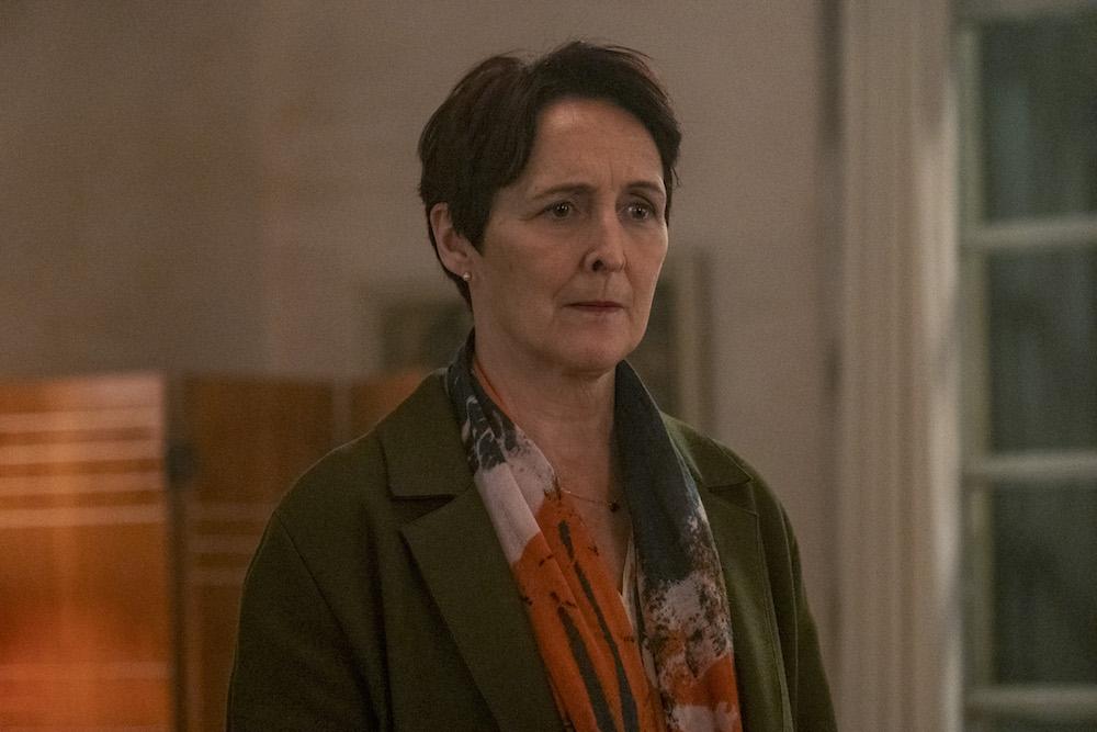 Fiona Shaw as Carolyn Martens - Killing Eve _ Season 3, Episode 8 - Photo Credit: Laura Radford/BBCAmerica/Sid Gentle