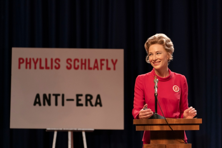 "MRS. AMERICA -- ""Betty"" --Episode 4 (Airs April 22) Pictured:   Cate Blanchett as Phyllis Schlafly. CR: Sabrina Lantos/FX"