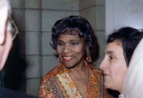 "Marian Anderson Singer Marian Anderson smiles at the Pierre Hotel, New York City, where the Ladies' Home Journal's ""Women of the Decade Awards: were heldMarian Anderson, New York, USA"