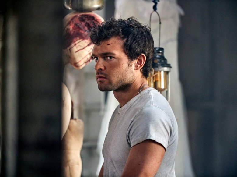 """BRAVE NEW WORLD -- """"Pilot"""" Episode 101 -- Pictured: Alden Ehrenreich as John the Savage -- (Photo by: Steve Schofield/Peacock)"""