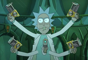 Rick Morty Five Arms