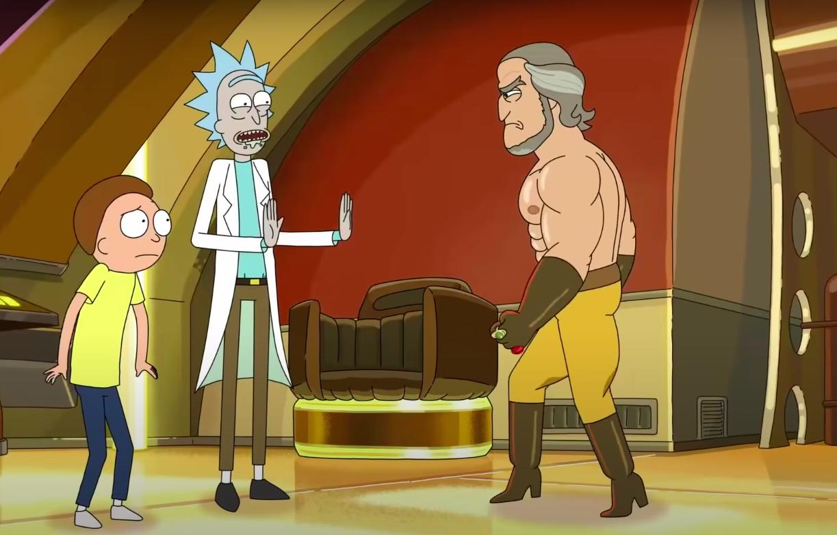 Rick Morty Storylord