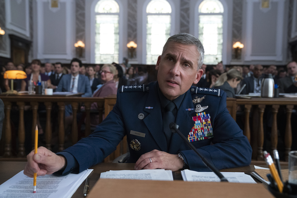 Space Force Steve Carell Netflix series The Office creator