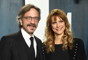 Marc Maron and Lynn Shelton