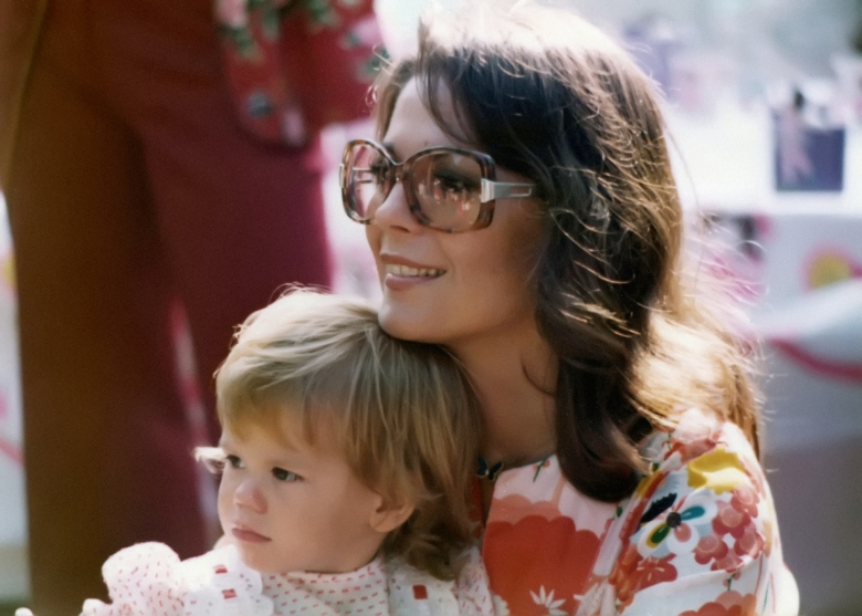 Courtney Wagner and Natalie Wood
