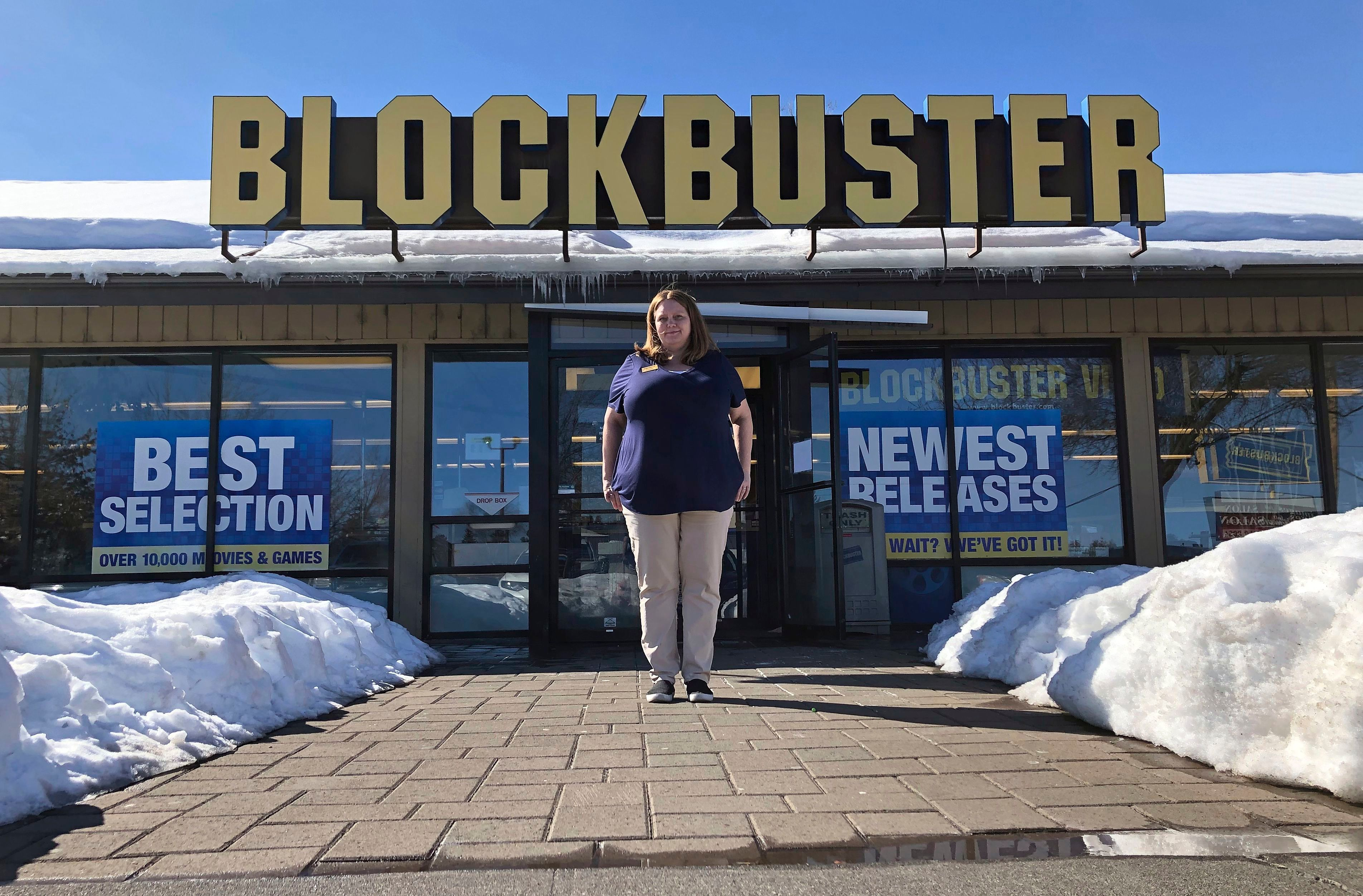 Blockbuster Video Store Is Surviving The Pandemic Indiewire