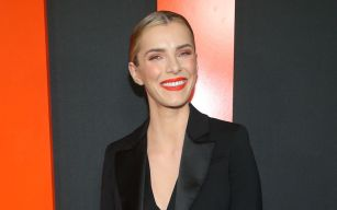 Betty Gilpin'The Hunt' special screening, Arrivals, Los Angeles, USA - 09 Mar 2020Wearing Altuzarra