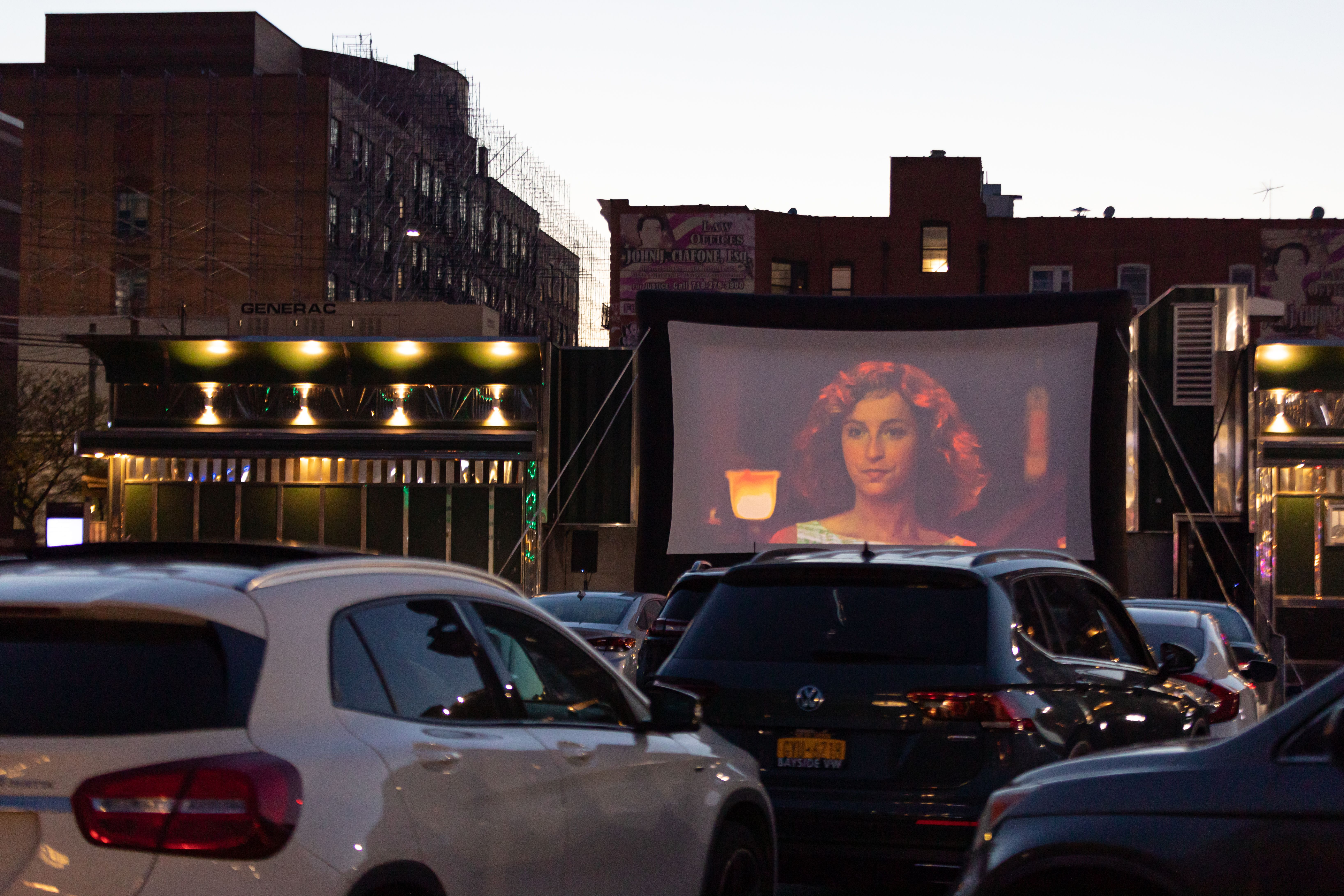 New York City Diner Creates Drive In Theater To Save Business Indiewire
