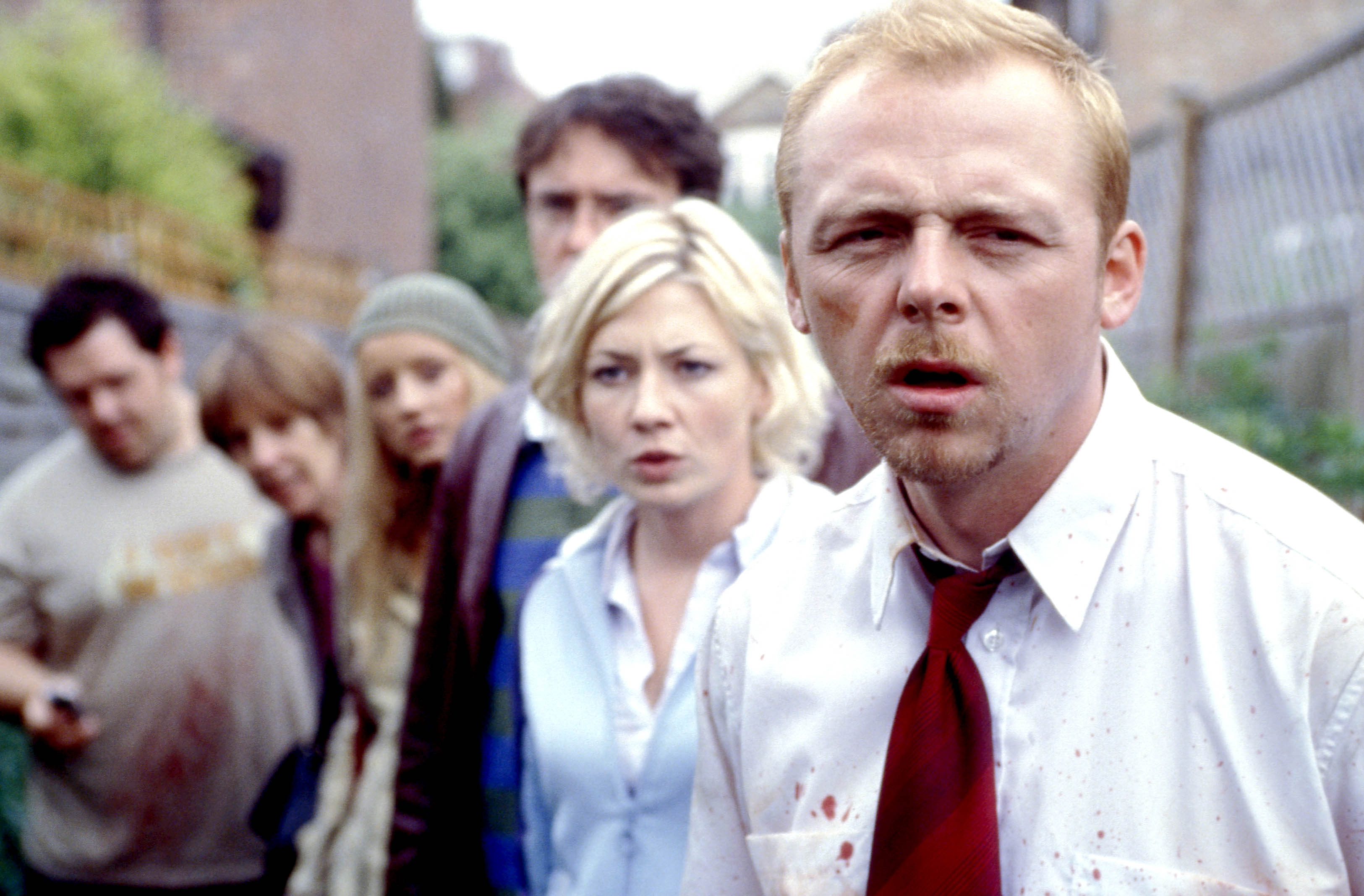 Shaun of the Dead' Zombie Extras Bit Edgar Wright's Leg | IndieWire