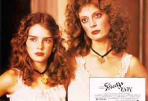 Editorial use onlyMandatory Credit: Photo by Snap/Shutterstock (390931ac)FILM STILLS OF 'PRETTY BABY' WITH 1978, LOUIS MALLE, SUSAN SARANDON, BROOKE SHIELDS IN 1978VARIOUS