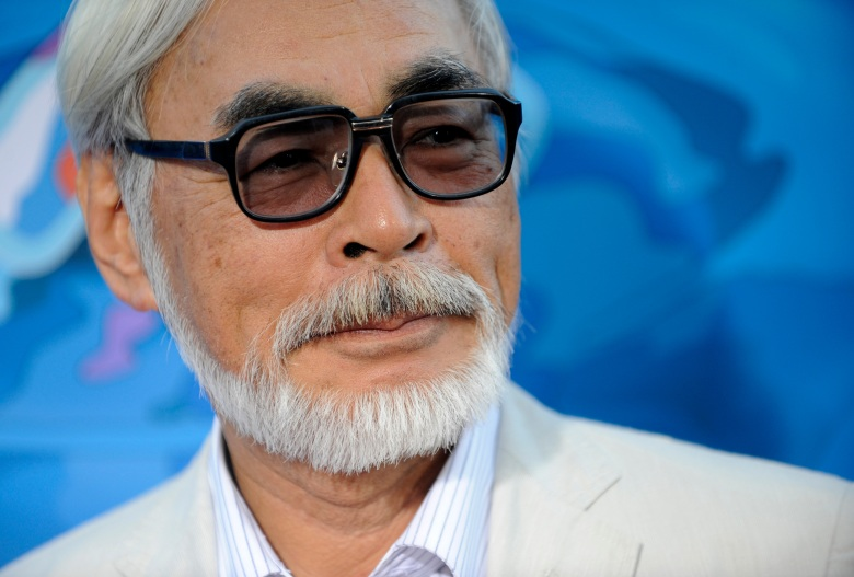 "Hayao Miyazaki Hayao Miyazaki, director of the animated film ""Ponyo,"" arrives at a special screening of the film in Los AngelesPremiere Ponyo LA, Los Angeles, USA"