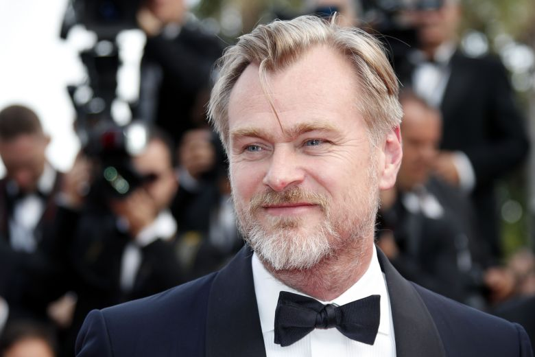 British director Christopher Nolan arrives for the screening of 'Sink Or Swim (Le Grand Bain)' during the 71st annual Cannes Film Festival, in Cannes, France, 13 May 2018. The movie is presented out of competition at the festival which runs from 08 to 19 May.Sink Or Swim Premiere - 71st Cannes Film Festival, France - 13 May 2018