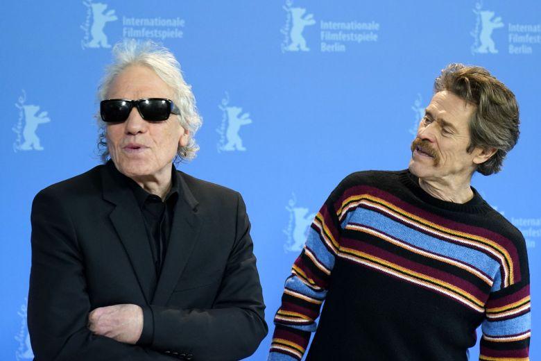 Abel Ferrara (L) and Willem Dafoe