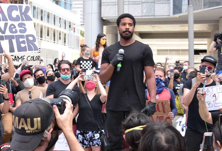 Michael B. JordanMichael B Jordan participates in Black Lives Matter protest, Century City, USA - 06 Jun 2020