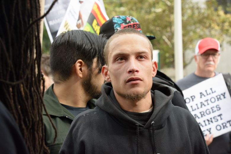 Ramsey Orta who videotaped Eric Garner's arrest at Richmond County Supreme Court to begin prison term.Ramsey Orta to begin prison term, Richmond County Supreme Court, New York, USA - 03 Oct 2016