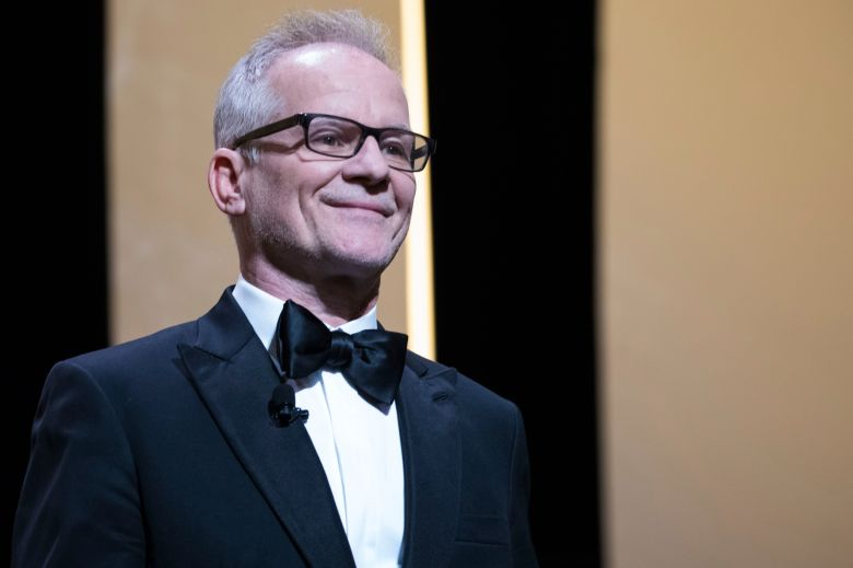 Cannes Film Festival director Thierry Fremaux speaks during the opening ceremony of the 71st international film festival, Cannes, southern France2018 Opening Ceremony, Cannes, France - 08 May 2018