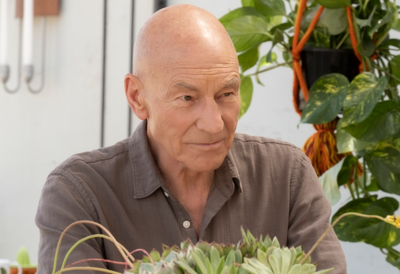 """""""The End Is The Beginning"""" -- Episode #103 -- Pictured: Sir Patrick Stewart as Jean-Luc Picard of the CBS All Access series STAR TREK: PICARD. Photo Cr: Trae Patton/CBS ©2019 CBS Interactive, Inc. All Rights Reserved."""