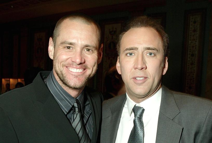 Jim Carrey Nicolas Cage Libro