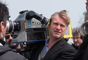 "Christopher Nolan filming ""Dunkirk"""