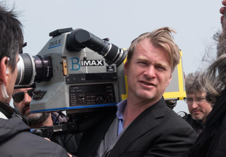 "Christopher Nolan filming ""Dunkirk"""