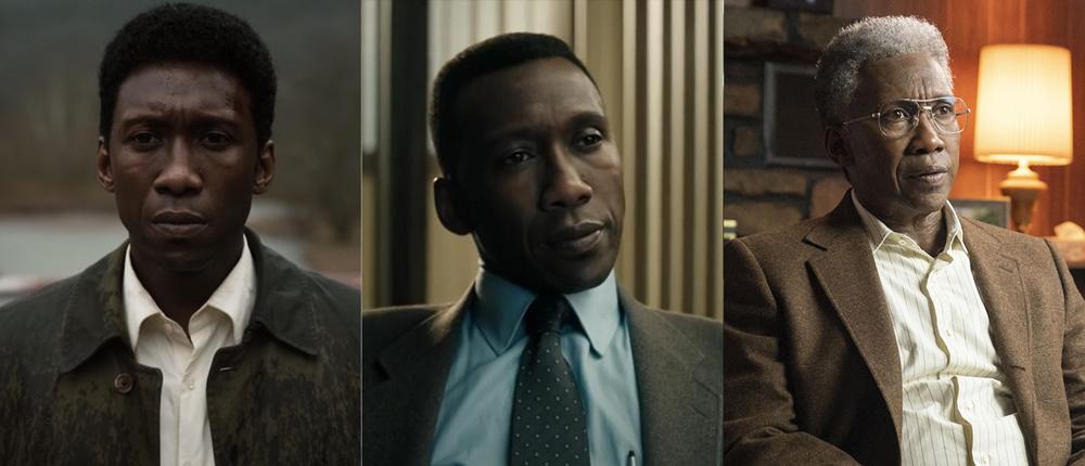 "Mahershala Ali's three looks in ""True Detective"" Season 2"