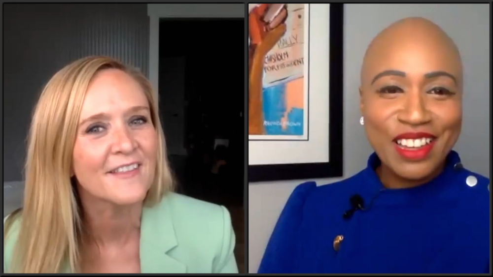 """Samantha Bee and Congresswoman Ayanna Pressley (MA-07) on """"Full Frontal"""""""