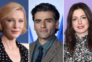 Cate Blanchett, Oscar Isaac, and Anne Hathaway