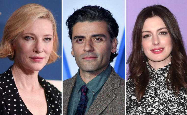 Cate Blanchett, Oscar Isaac, and Anne Hathaway