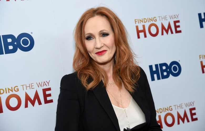 "J.K. Rowling attends the HBO Documentary Films premiere of ""Finding the Way Home"" at 30 Hudson Yards, in New YorkNY Premiere of HBO's ""Finding the Way Home"", New York, USA - 11 Dec 2019"