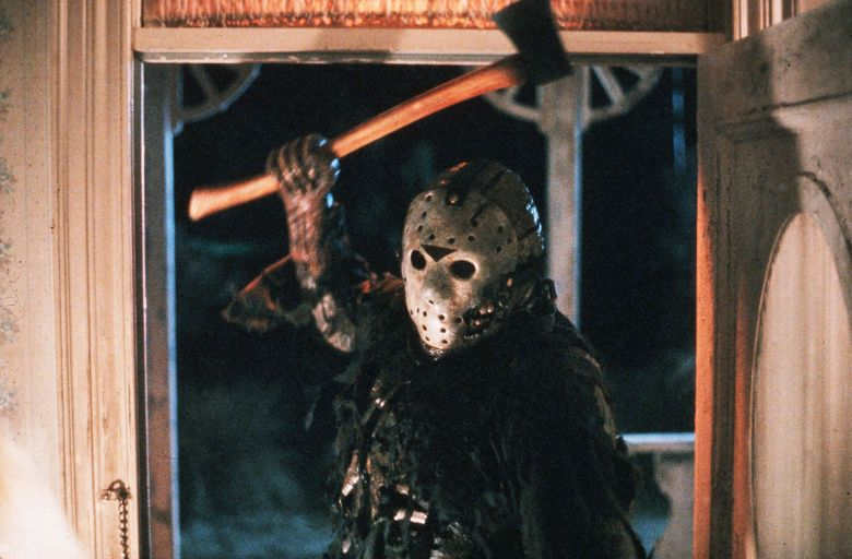 Editorial use only. No book cover usage.Mandatory Credit: Photo by Paramount/Kobal/Shutterstock (5879951a)Kane HodderFriday The 13Th Part VI - The New Blood - 1988Director: John Carl BuechlerParamountUSAScene StillHorror