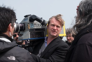 """Editorial use only. No book cover usage.Mandatory Credit: Photo by M S Gordon/Warner Bros/Kobal/Shutterstock (8966691e)Christopher Nolan""""Dunkirk"""" Film - 2017"""