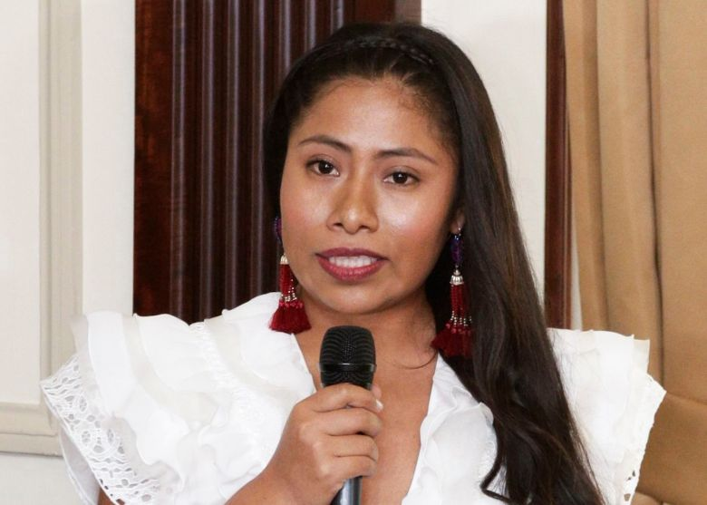 Oscar-nominated ROMA star Yalitza Aparicio speaks after she was honored with a key to the city, in Panama City, . The Mexican actress is attending the 8th International Panama Film Festival where ROMA is being screenedYalitza Aparicio, Panama City, Panama - 08 Apr 2019