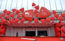 Final Preparations Are Underway at the Lido Ahead of the Annual 71st Annual Venice International Film Festival in Venice Italy 26 August 2014 Ranieri Will Host the Opening Ceremony of the Festival That Runs From 27 August to 06 September Italy VeniceItaly Venice Film Festival 2014 - Aug 2014