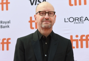 "Director Steven Soderbergh attends a premiere for ""The Laundromat"" on day five of the Toronto International Film Festival at Princess of Wales Theatre on Monday, Sept. 9, 2019, in Toronto. (Photo by Chris Pizzello/Invision/AP)"