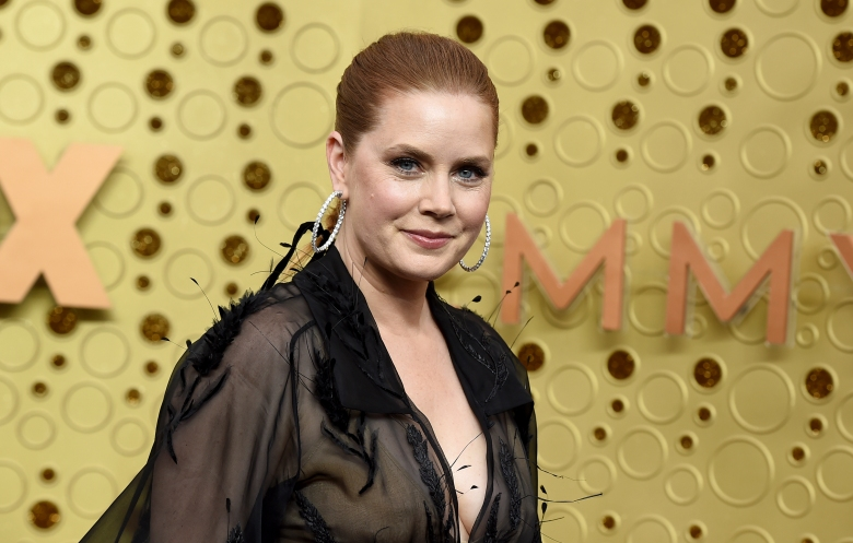 Amy Adams arrives at the 71st Primetime Emmy Awards on Sunday, Sept. 22, 2019, at the Microsoft Theater in Los Angeles. (Photo by Jordan Strauss/Invision/AP)