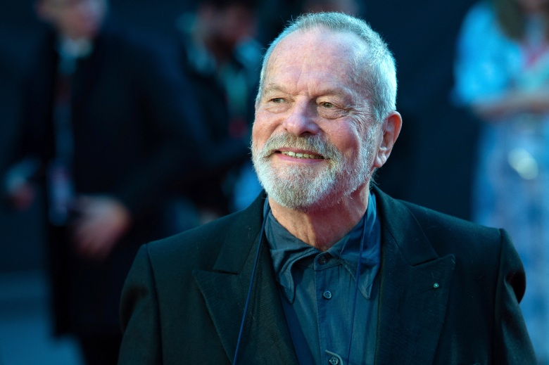 Terry Gilliam attending The Irishman International Premiere and Closing Gala of the 63rd BFI London Film Festival in London, England on October 13, 2019. Photo by Aurore Marechal/Abaca/Sipa USA(Sipa via AP Images)