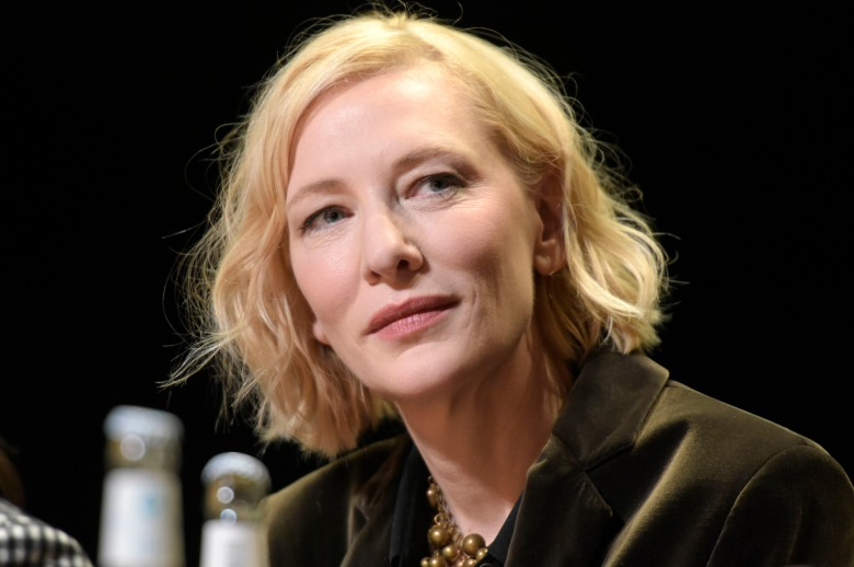 Cate Blanchett at the Talents Table Talk: Places like Home at the Berlinale Talent Campus at the Berlinale 2020 / 70th Berlin International Film Festival at HAU 1. Berlin, February 24, 2020 | usage worldwide Photo by: Snapshot/Tobias Seeliger/Geisler/picture-alliance/dpa/AP Images