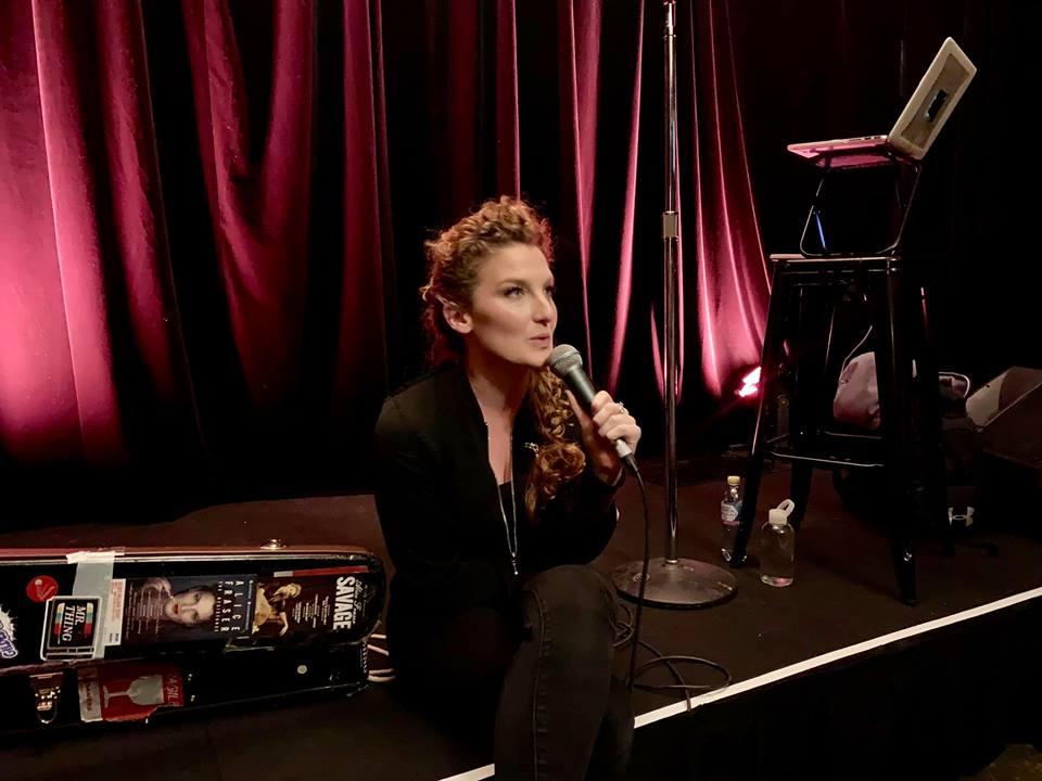 Alice Fraser on Stage