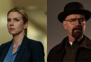 "Kim Wexler from ""Better Call Saul,"" Walter White from ""Breaking Bad"""